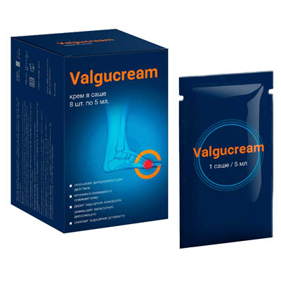 Valgucream - крем для ног